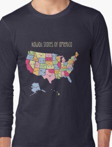 Kawaii States of America Long Sleeve T-Shirt