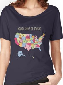 Kawaii States of America Women's Relaxed Fit T-Shirt