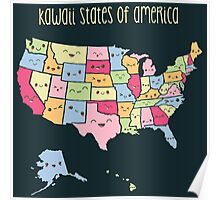 Kawaii States of America Poster