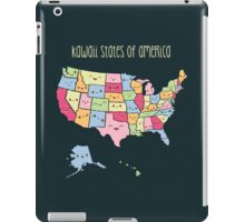 Kawaii States of America iPad Case/Skin
