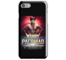 """Manny Pacquiao """"Battle for Greatness"""" iPhone Case/Skin"""