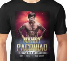 """Manny Pacquiao """"Battle for Greatness"""" Unisex T-Shirt"""