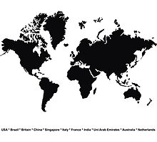 World Map by furanzu