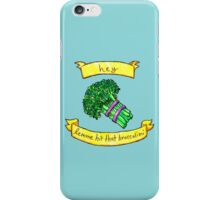 lemme hit that broccolini iPhone Case/Skin