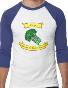 lemme hit that broccolini Men's Baseball ¾ T-Shirt