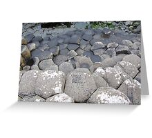 Giants Causeway 3 Greeting Card