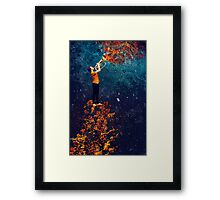 The Royal Baritonist of the Forest King Framed Print