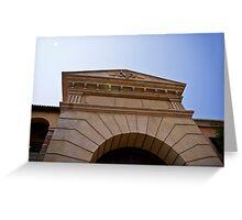 Front Door Facade Greeting Card