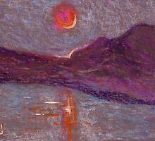 Impressionist sunrise by sword