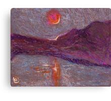Impressionist sunrise Canvas Print