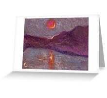 Impressionist sunrise Greeting Card