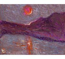 Impressionist sunrise Photographic Print