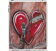 Closed For Repairs Series 1 By Sherry Arthur iPad Case/Skin