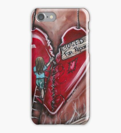 Closed For Repairs Series 1 By Sherry Arthur iPhone Case/Skin