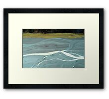 In the Hall of the Mountain King- Confluence. Framed Print