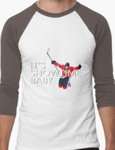 It's Showtime Baby; Patrick Kane  Men's Baseball ¾ T-Shirt