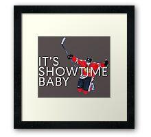 It's Showtime Baby; Patrick Kane  Framed Print