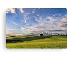 Late Afternoon at Wesley Vale Canvas Print