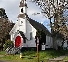 """Saint Pauls Episcopal Church"" by Lynn Bawden"