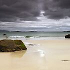 Harris: Huishinish Beach by Kasia-D