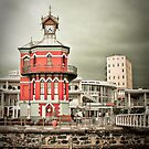 The Red Clock Tower by bababen