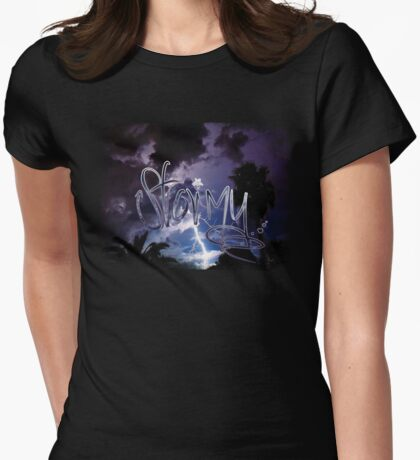 Stormy - Inspired by Stormy Womens Fitted T-Shirt