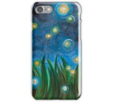 Fireflies iPhone Case/Skin