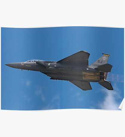 The F-15 Strike Eagle Poster