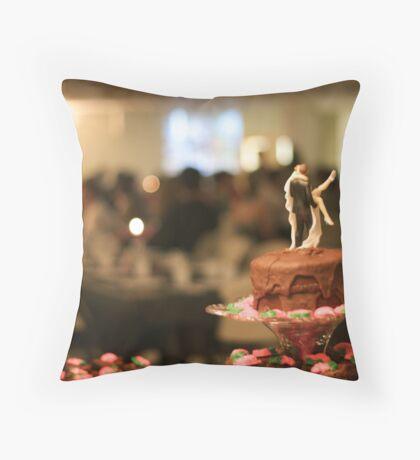 The Blur Throw Pillow