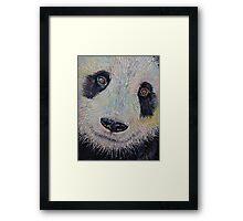 Panda Portrait Framed Print