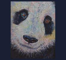 Panda Portrait One Piece - Short Sleeve