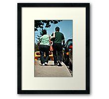 P.S I Love You Framed Print
