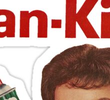 Kan-Kil Cat Call Killer RETRO Sticker