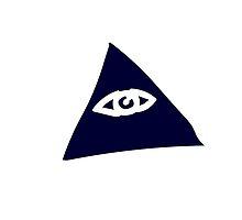 Illuminati - Triangle Silhouette by BrotatoTips