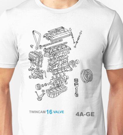 4A-GE Explode Unisex T-Shirt