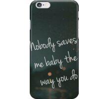 One Direction Fireproof Lyrics Phone Case iPhone Case/Skin