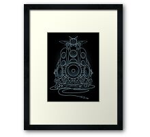 AudioHIve - Electric Framed Print