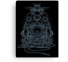 AudioHIve - Electric Canvas Print