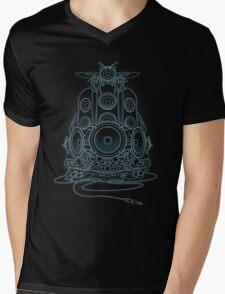 AudioHIve - Electric Mens V-Neck T-Shirt