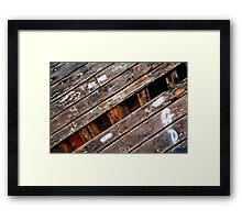 Undressing Alma Framed Print