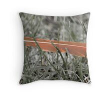 One less Feather Throw Pillow