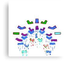 Flywrench - Flashy Canvas Print