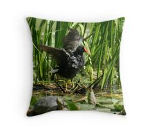 Neighbouring wildlife I Throw Pillow