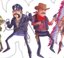 The Village People! Sticker