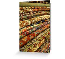 Egyptian carpet Greeting Card