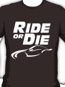 ride or die v2 tribute paul walker T-Shirt