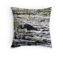 Economy of Movement Throw Pillow