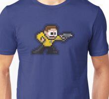 8-Bit Starfleet Capt Unisex T-Shirt