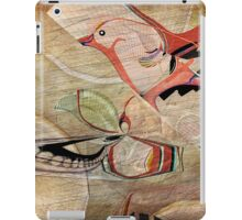 Bird in Hand Abstract: Digital illustration by Alma Lee iPad Case/Skin