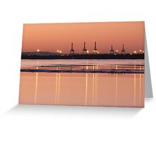 Looking across the bay Greeting Card